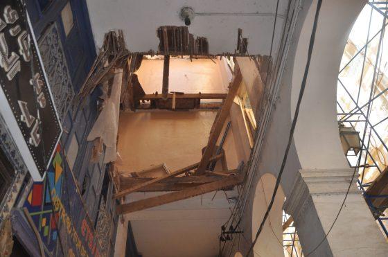 Casbah : un mort et 4 blessés dans l'effondrement du plancher d'un immeuble