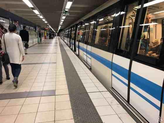 Métro d'Alger : Accident à la station les Fusillés, un blessé