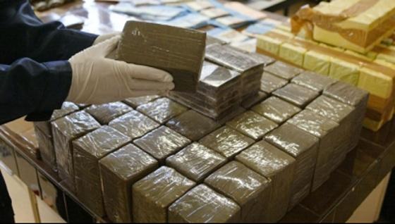770 kg de drogue découverts dans un véhicule