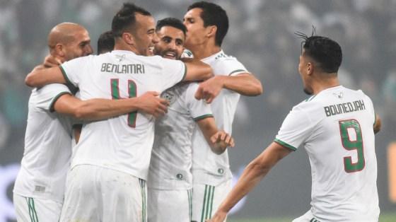 Algerie- Colombie: les Verts en taille patron