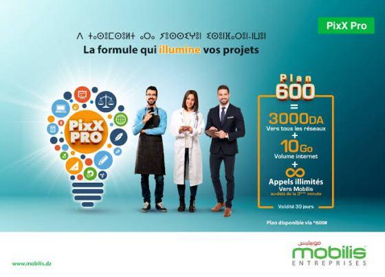 PixX Pro 600 de Mobilis : La formule qui illumine vos projets