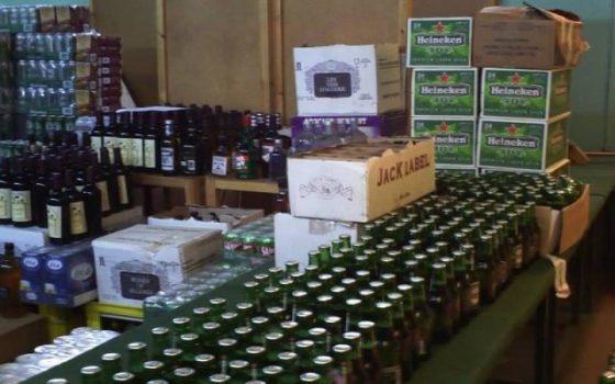 Saisie de 14 280 unités de boissons alcoolisées dans plusieurs wilayas