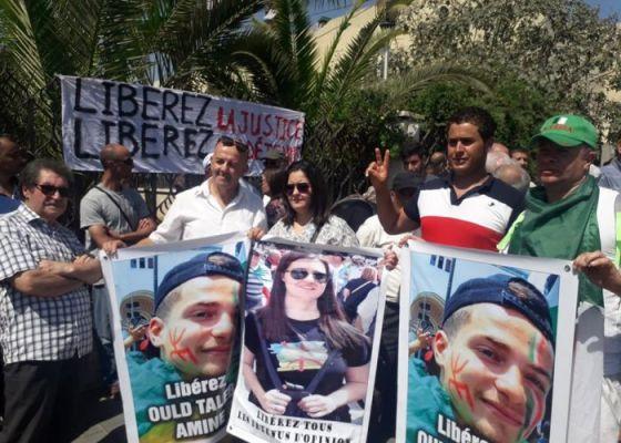 Campus Aboudaou à Béjaïa : Rassemblement de soutien aux détenus du Hirak