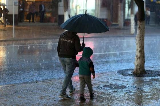 Selon un BMS : Fortes pluies et chutes de grêle attendues aujourd'hui