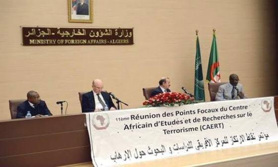 Terrorisme en Afrique : Prochaine réunion des Points focaux du Caert à Alger