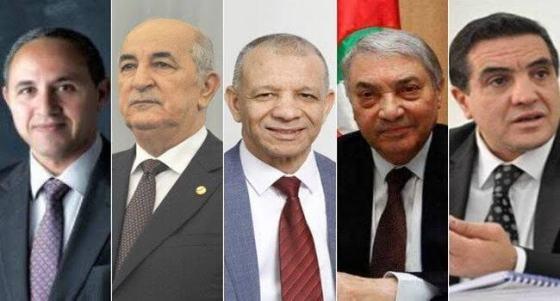 Les cinq candidats face à leur destin