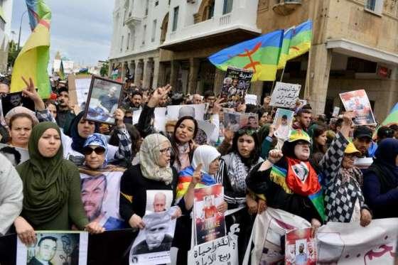 Béjaïa : Marches de soutien aux détenus à Kherrata et Tazmalt