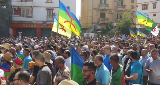 Marche et rassemblement à Béjaïa