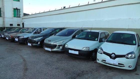 Trafic de véhicules : 746 voitures volées récupérées