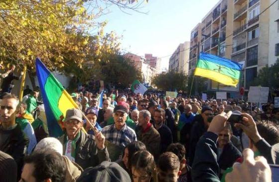 Marche de la communauté universitaire et de la société civile à Béjaïa