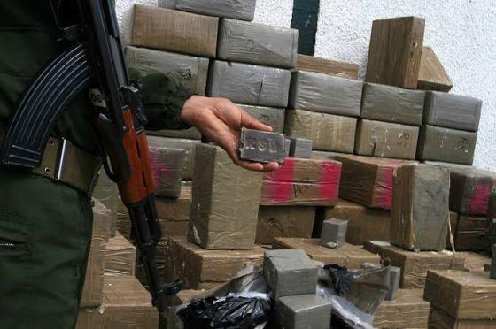 Lutte contre la contrebande : Saisie de plus de 6 quintaux de kif traité à Naâma