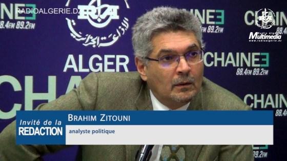 Brahim Zitouni : « Tebboune devrait tendre la main aux forces sociales »