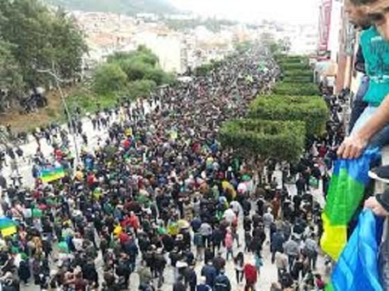 Importante manifestation pour Yennayer  Béjaïa