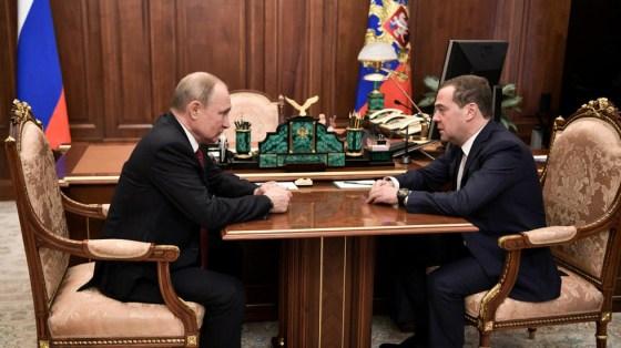 Démission du gouvernement en Russie