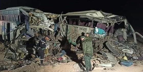12 morts et 59 blessés dans un accident de la route à El-Oued