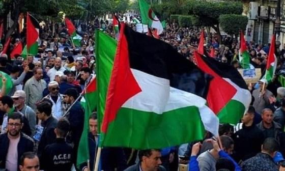 Le hirak soutient la cause palestinienne