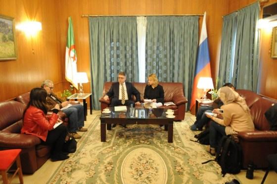 """Crise libyenne: Moscou """"compte beaucoup sur l'Algérie"""""""