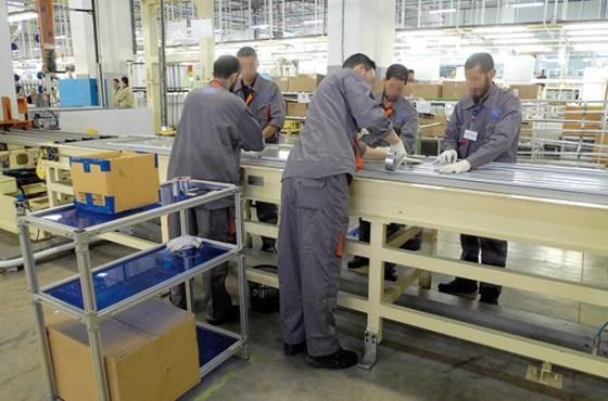 Le gouvernement table sur  l'industrie manufacturière