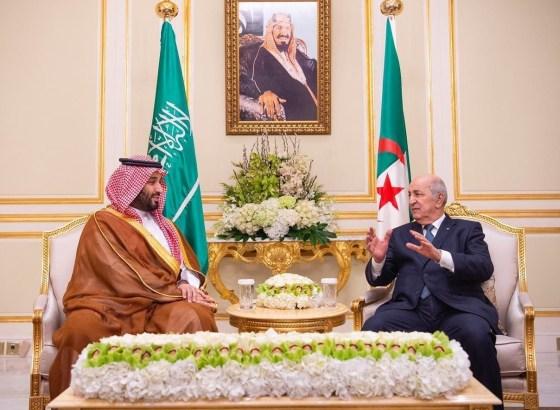 Tebboune entame ses visites officielles à l'étranger par Ryad