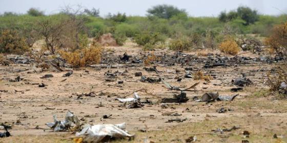 Crash AH 5017 : 1 200 restes humains collectés sur le site