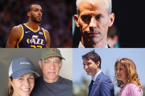 COVID-19: Des célébrités du monde politique, sportif et musical touchées