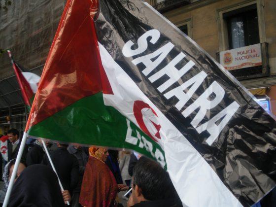 Une marche à Madrid pour l'indépendance du Sahara occidental