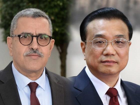 Algérie-Chine: Entretien téléphonique entre Djerad et son homologue chinois