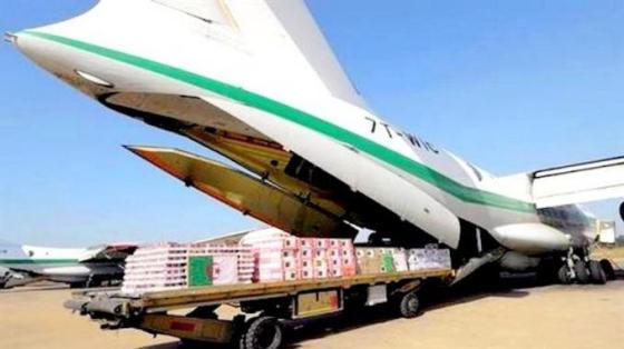Arrivée d'un nouveau lot de matériel médical de Chine