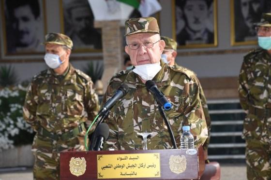 Chanegriha à Oran: L'armée prête à se sacrifier pour le peuple