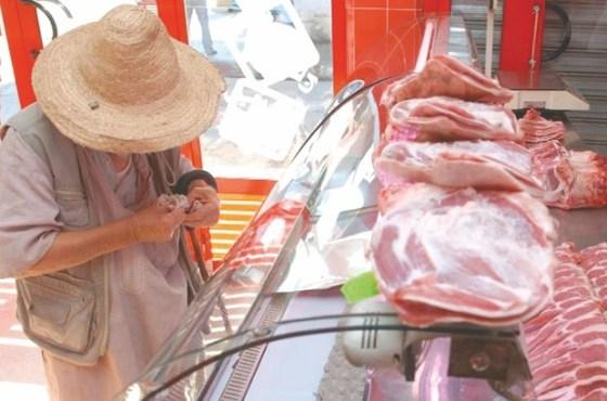 Soulagement chez les distributeurs de la viande rouge