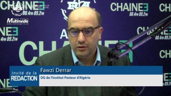Fawzi Derrar, DG de l'institut Pasteur : Un relâchement dans le confinement relancerait la pandémie »