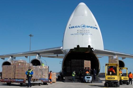 Covid-19: La Russie fournit des aides à l'Algérie