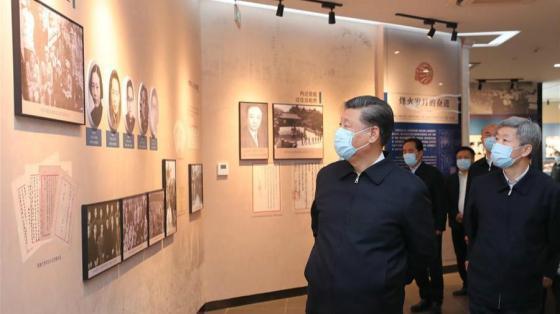 Jinping revisite l'«Esprit Xiqian »