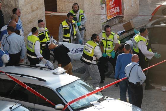 Opération martyre à ElQods: 5 israéliens tués (nouveau bilan)