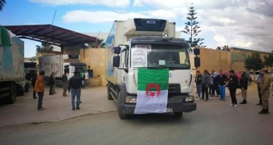 11 tonnes de dons alimentaires pour les algériens de France