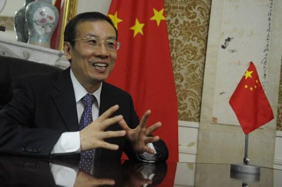 L'Ambassadeur de Chine : La véritable amitié se reconnaît dans les malheurs