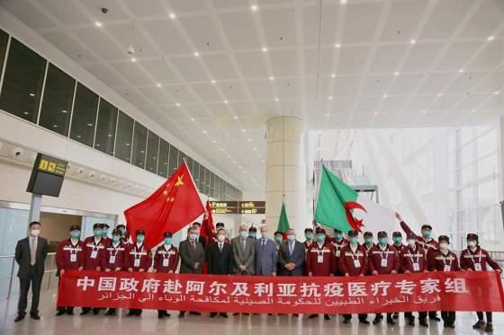 COVID-19: L'expertise chinoise au service de l'Algérie