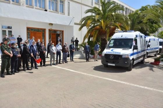 Médéa: Cinq ambulances médicalisées pour le secteur sanitaire