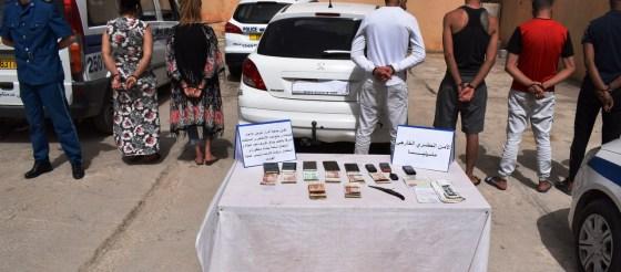 Constantine: Sept individus dont deux filles arrêtés pour vol sous la menace