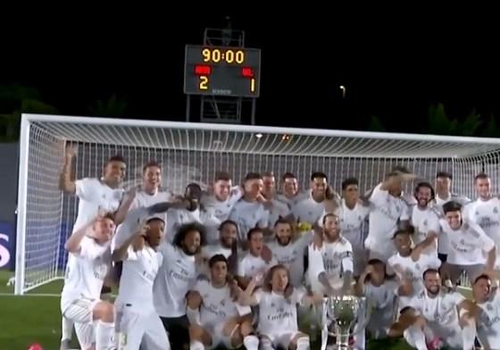 Le Real Madrid remporte son 34e titre de liga