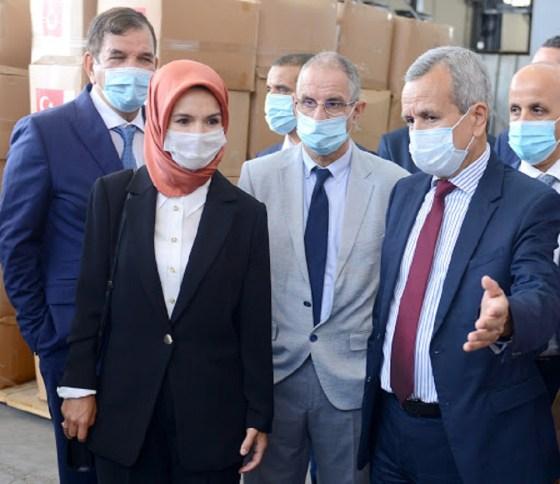 L'Algérie réceptionne un don de matériel médical de la Turquie