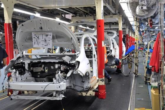Vers la réorganisation de l'activité industrielle