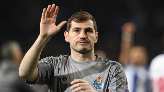 Iker Casillas accroche ses gants