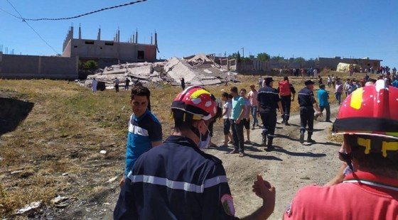 Risque d'effondrement de 300 logements à Mila