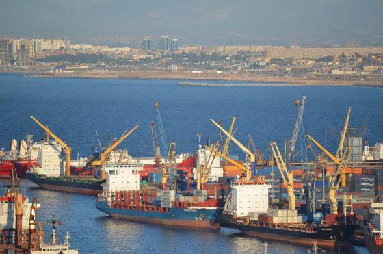 Les travailleurs de Dubai Port Algérie en grève