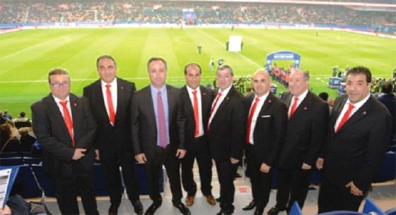 Des présidents invités à un match du PSG