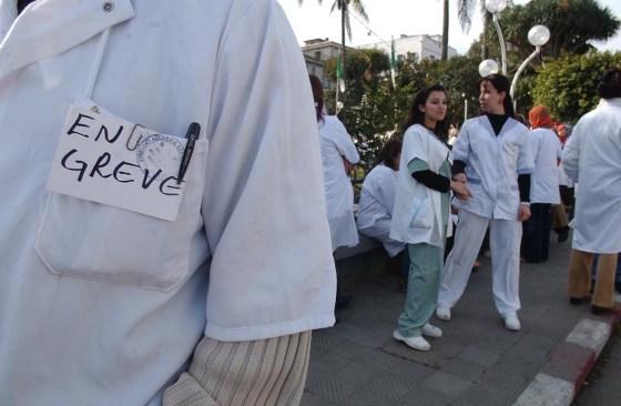 Les médecins de nouveau en grève