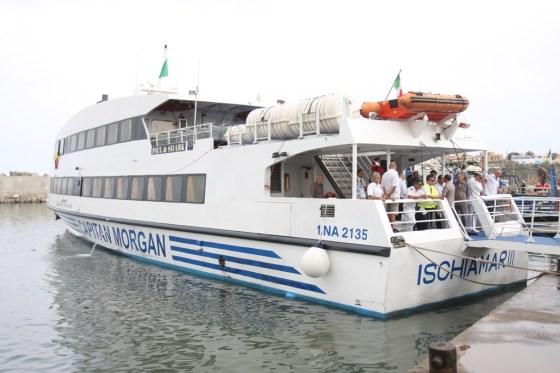 Inauguration de la première ligne maritime Port d'El-Djamila-Pêcherie d'Alger