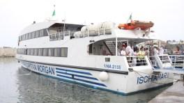 """Lancement de la ligne de transport maritime """"La pecherie-La Madrague"""""""