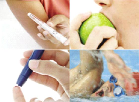 La diabétiques donnent la priorité à la diète au détriment d'autres aspects